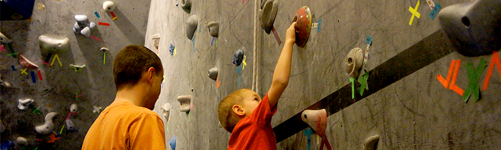 Notre Dame Recsports Family Fundays Spring 2016 Rock Climbing Featured Image