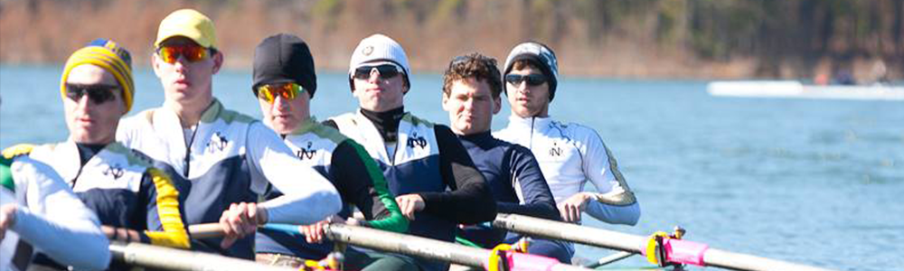 Notre Dame Recsports Mens Rowing Spring 2016 Featured Image