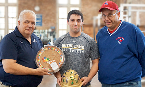 Notre Dame Recsports Most Outstanding Student Employee September 2015 Brady Ruffing2