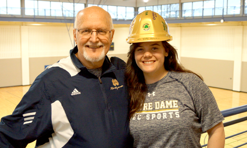 Nd Recsports Most Outstanding Student Employee Of The Month March 2016 Ashley Rinks Featured Image