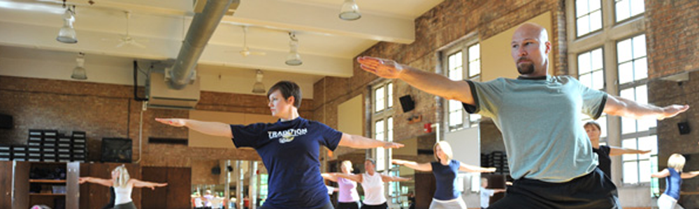Notre Dame Recsports Group Fitness Class Vinyasa Yoga2 Summer 2016 Featured Image