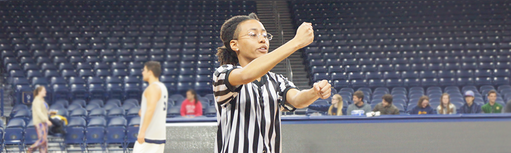 Notre Dame Recsports Student Employment Sport Official Spring 2016 Featured Image