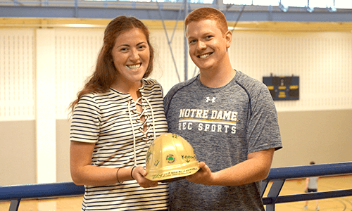 Nd Recsports Most Outstanding Student Employee Of The Month May 2016 Katy Wahl Featured Image
