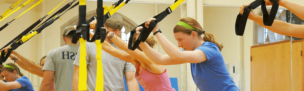 Notre Dame Recsports Trx Close Up Featured Image