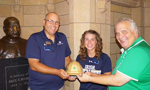 Notre Dame Recsports Eom Tess Swain Junejuly16