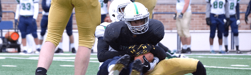Notre Dame Recsports Tackle Football 2016 Featured Image