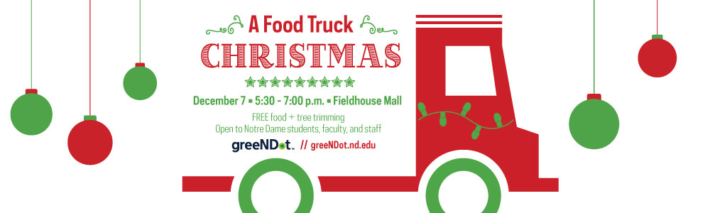 1000 X 300 Px A Food Truck Christmas