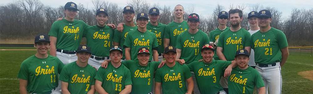 brand new de029 98fab Men's Baseball // RecSports // University of Notre Dame