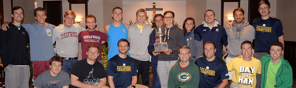 Siegfried Hall O'Leary Cup Notre Dame Recsports Spring 2017 Featured Image