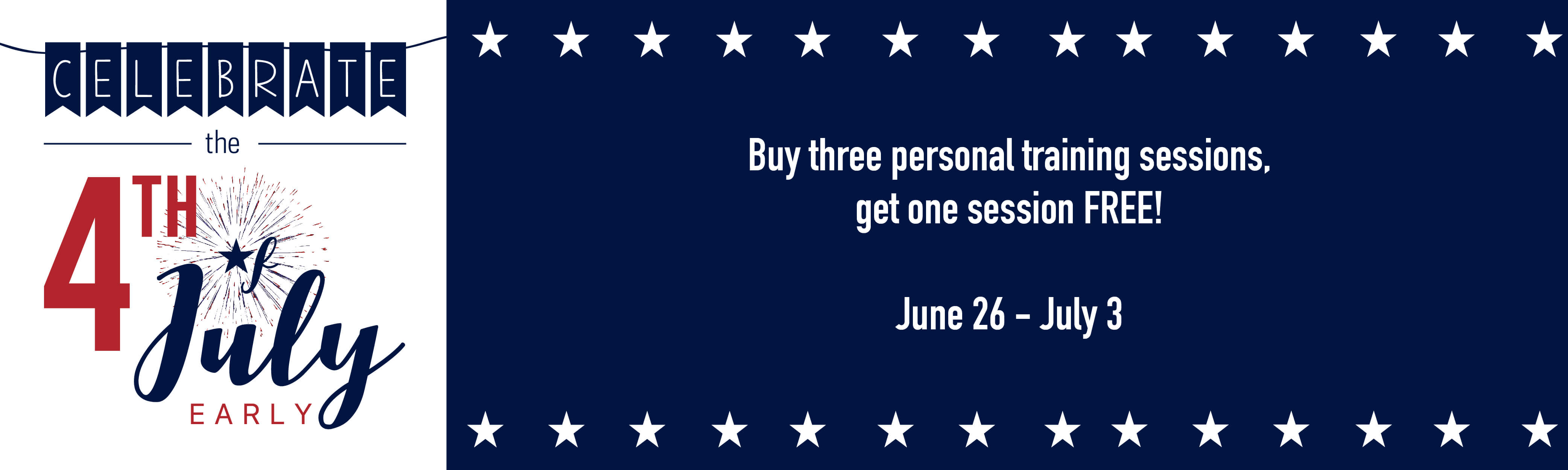 Notre Dame Recsports 4th Of July Personal Training Promo 2016 2016 Featured Image