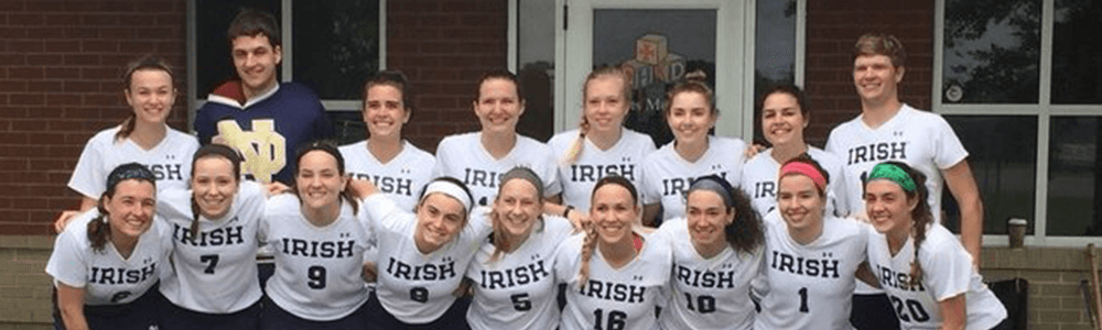 Notre Dame Recsports Club Sports Womens Field Hockey Featured Image