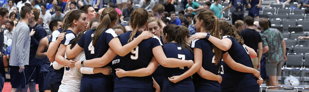 Notre Dame Recsports Club Sports Womens Volleyball Club Featured Image