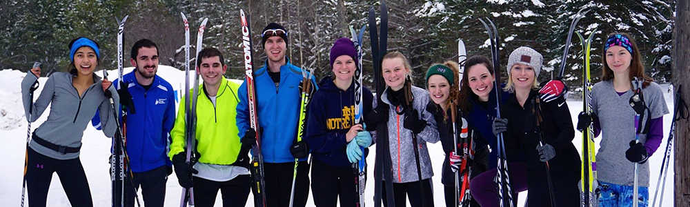 Notre Dame Recsports Club Sports Nordic Ski Club Featured Image