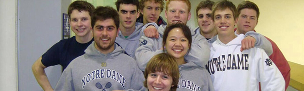 Notre Dame Recsports Club Sports Squash Club Featured Image
