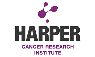 Harper Cancer Research Institute 333 X 200 Logo Domer Run