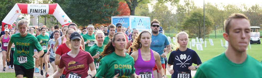 Domer Run 2017 Header 1000 X 300
