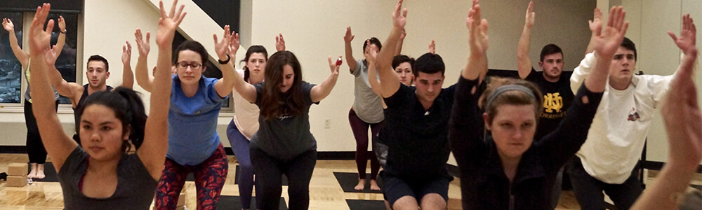 Group Fitness Yoga Buff Class