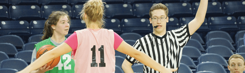 Notre Dame Recsports Intramural Sports Officials Featured Image