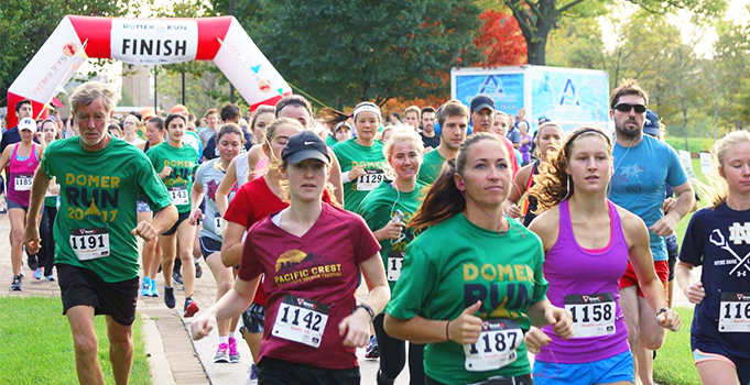 Domer Run 2017 Website Slider 681 X 350