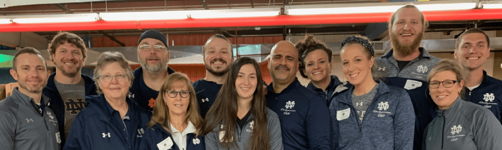 Notre Dame Recsports Food Bank 2018 Featured Image