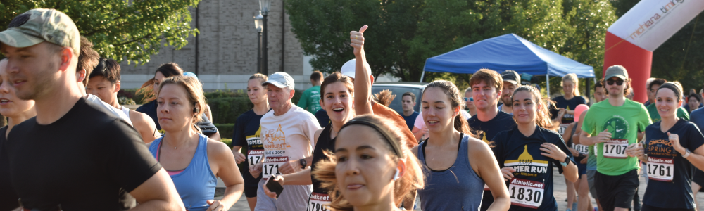 Domer Run 2019 Start Line Featured Image