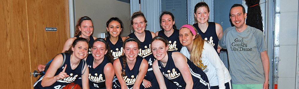 Notre Dame Recsports Club Sports Basketball Women S Featured Image 1000x300