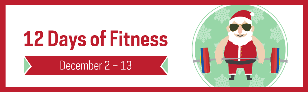 Notre Dame Recsports 12 Days Of Fitness 2019 Webslider 1000 X 300