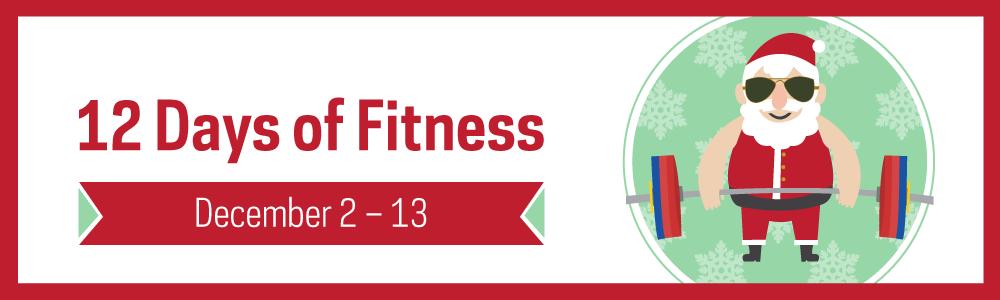 Notre Dame Recsports 12 Days Of Fitness 2019 Webslider 1000 X 300