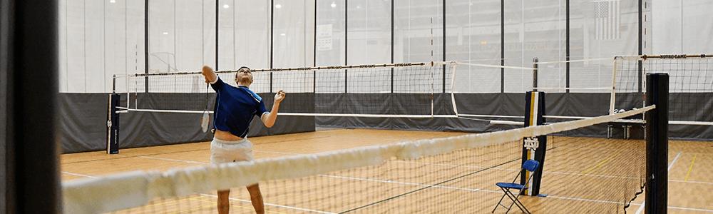 Notre Dame Recsports Badminton Featured Image 1000x300