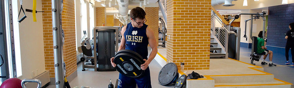 Notre Dame Recsports Fitness Lifting Basics Workshop 1000x300