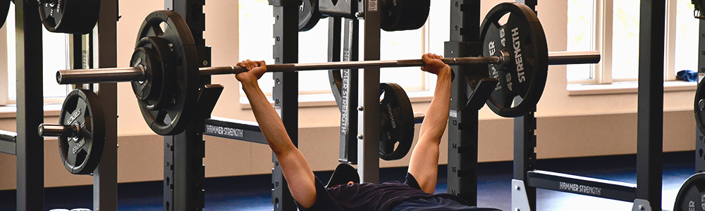 Notre Dame Recsports Fitness Bench Press Workshop Featured Image 1000x300