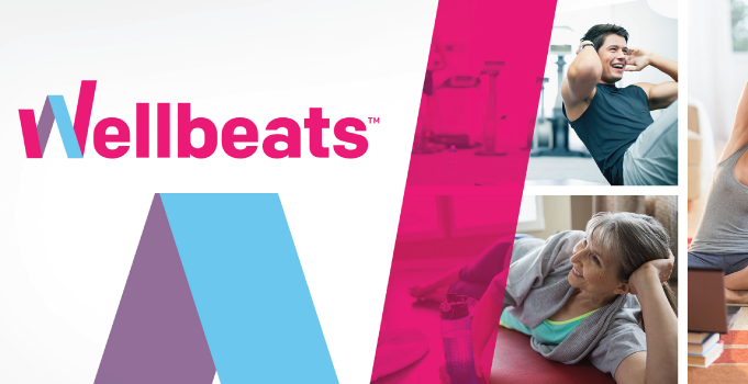 Gain access to Wellbeats on-demand fitness classes