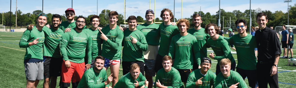 Notre Dame Recsports Siegfried Hall Field Day Champs Featured Image