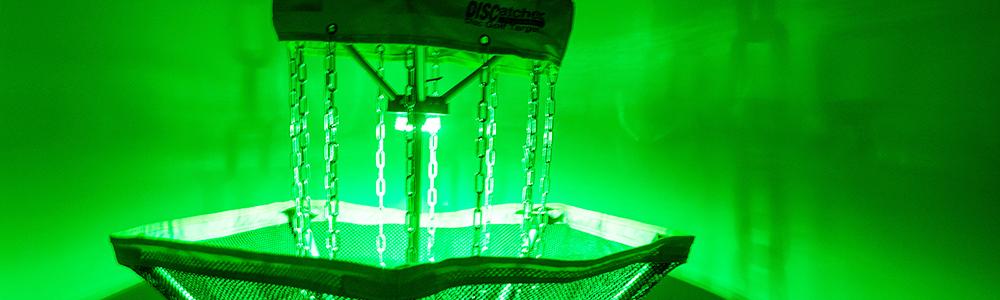 Notre Dame Recsports Glow In Dark Disc Golf Spring 2021 Featured Image